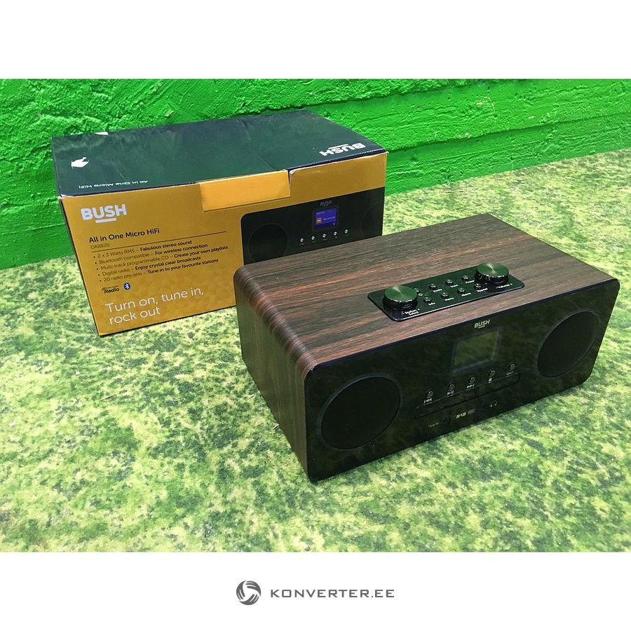 Bush Dab All-in-one Bluetooth Micro Hi-fi System Sound & Vision