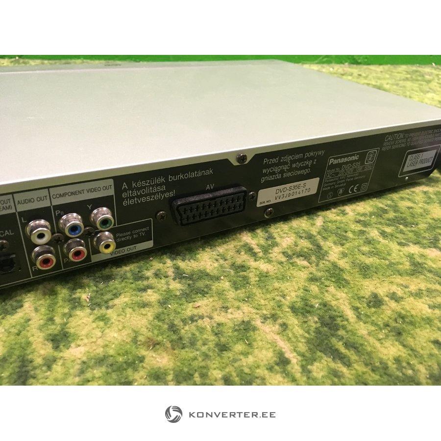 ebc59507984 Hall DVD-mängija Panasonic DVD-S35 koos puldiga - Konverter Outlet