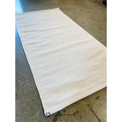 White cotton rug (farah)