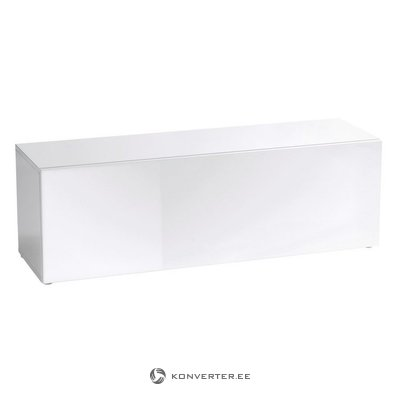 White High Gloss TV Cabinet (Whole, Layout)