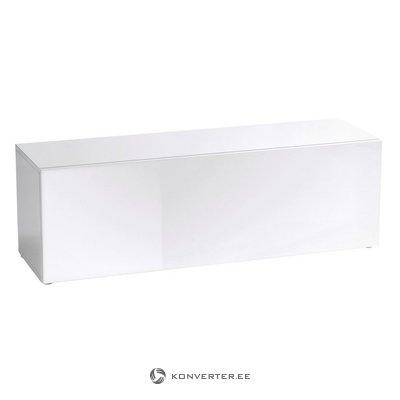 Valkoinen High Gloss TV -kaappi (koko, ulkoasu)