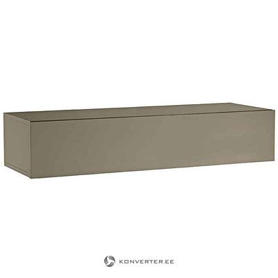 Dark beige small chest of drawers
