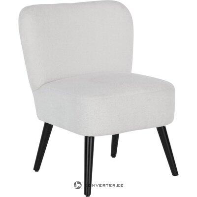 Krēmbalts mīksts krēsls (noabelle)