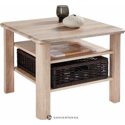 Светло-коричневый журнальный столик с корзиной (inosign)