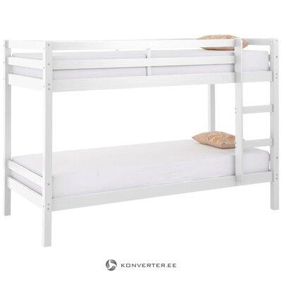 Двухъярусная кровать из массива дерева (альпийская)