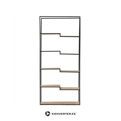 Black-brown shelf