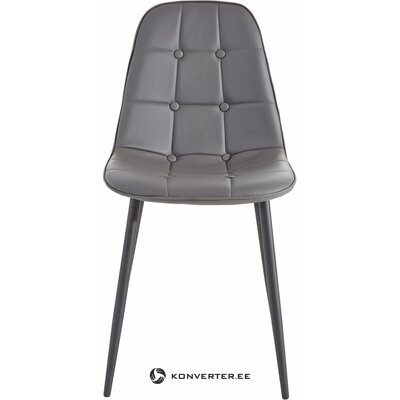 Gray soft chair (hall sample, with beauty defect,)