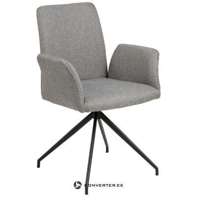 Gray swivel chair naya (actona) (minor flaws hall sample)