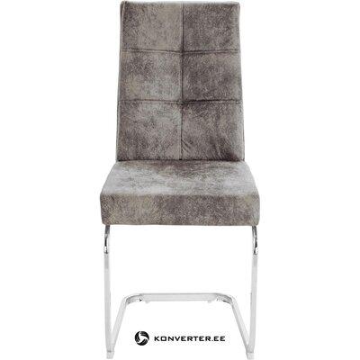 Vaaleanharmaa tuoli (lale) (salinäyte pieni kauneusvirhe)