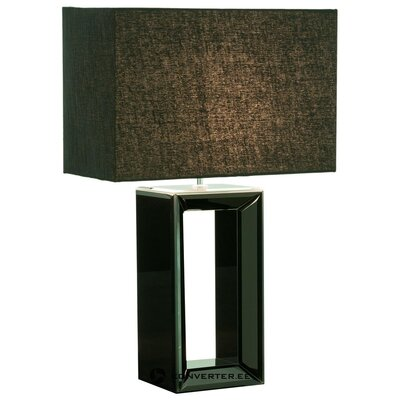 Черная настольная лампа serafina (прожектор) (с косметическими дефектами образец холла)