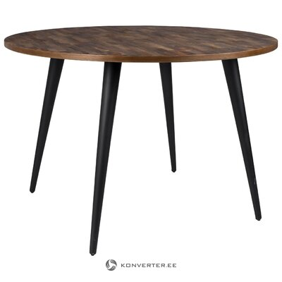 Round dining table mo (white label)