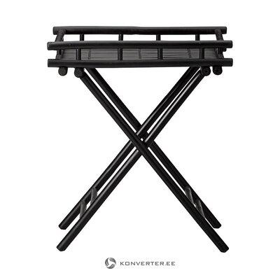 Black folding garden table mandisa (lene bjerre)