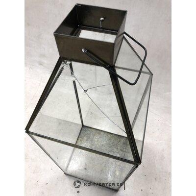Metāla sveču laterna aladīns (HD kolekcija) (skaistuma defekts zāles paraugs)