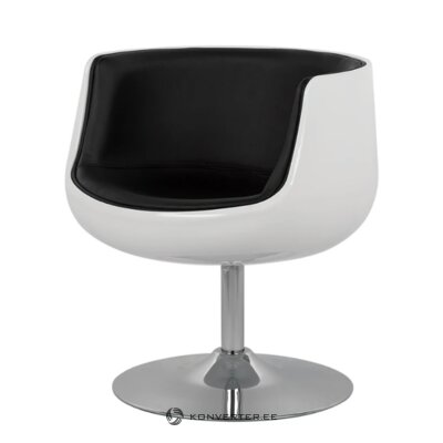 Black and white armchair (sanluis)