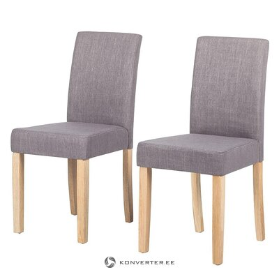 Pilka minkšta kėdė (nella)