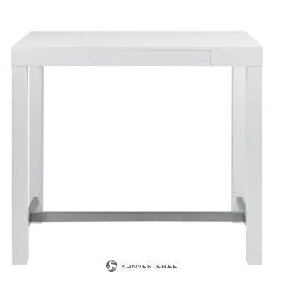 White bar table (ettric)