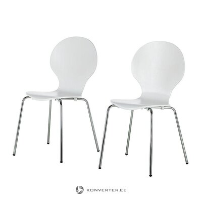White rubber chair (bristol)
