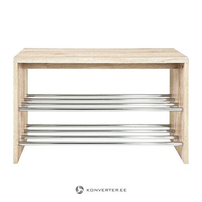 Solid wood shoe shelf (martin)