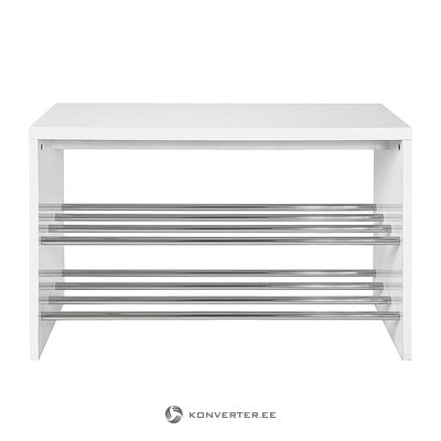White shoe shelf (gustav)