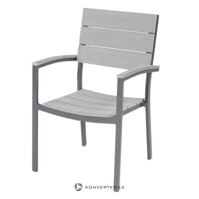 Gray garden chair (avord)