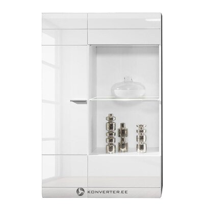 White high gloss display cabinet (carero)