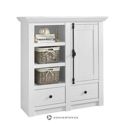 White solid wood chest of drawers (geestland)