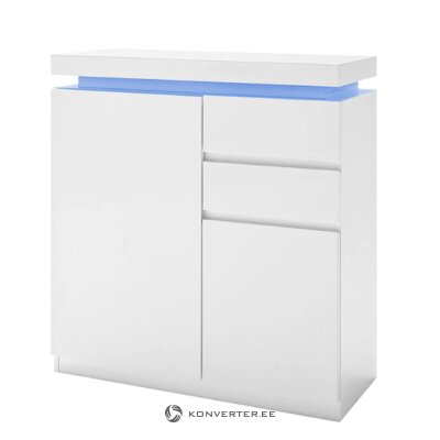 White high gloss dresser (emblaze)