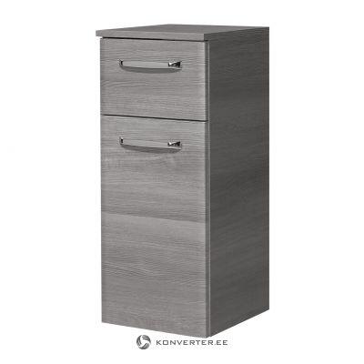 Серый шкаф (алика) (образец зала, с недостатками красоты)