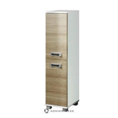 Brown-white narrow cabinet (granby)