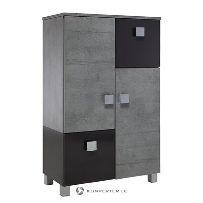 Black-gray bathroom cabinet (toronto)