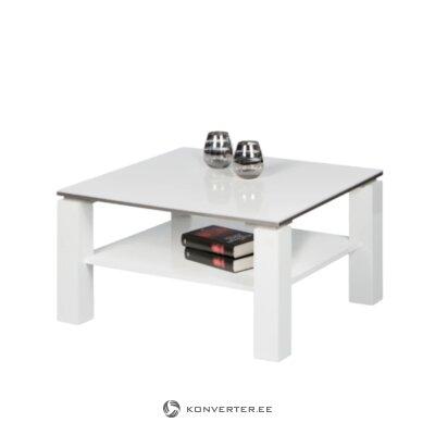 Белый журнальный столик (видора)