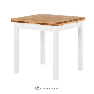 Solid wood extendable dining table (bastide)