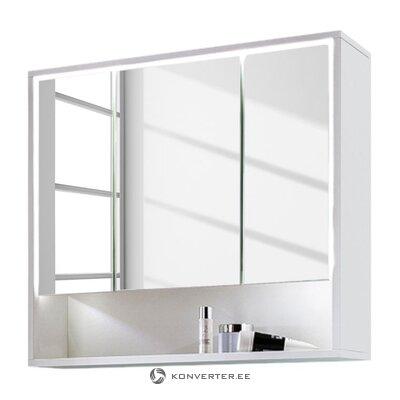 Balta vonios veidrodžio spintelė (Cupak) (su defektais. Salės pavyzdys)