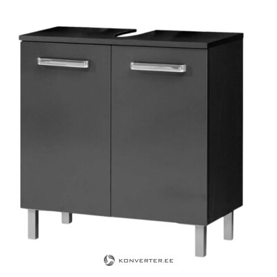 Black sink cabinet (mainz)