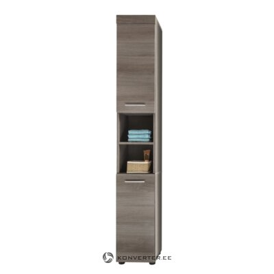 Gray tall bathroom cabinet (runner)