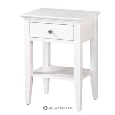 White bedside table (gudhjem)