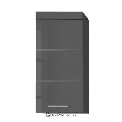 Серый настенный шкафчик (аманда)