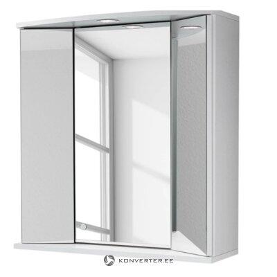 Белый Зеркало для ванной комнаты (Зино)