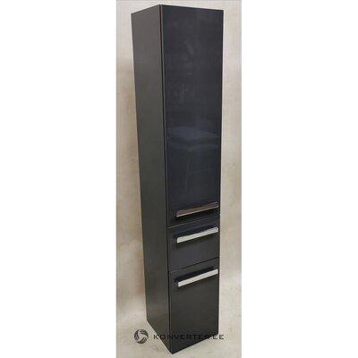 Gray High Gloss Cabinet (Focus) (Hall Sample, Whole)