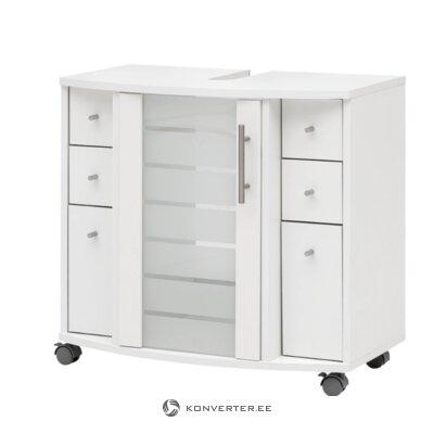 White sink cabinet (niko)