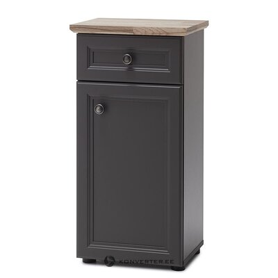 Gray bathroom cabinet (lindesby)