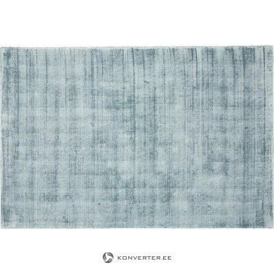 Blue viscose carpet (jane) (whole, in a box)