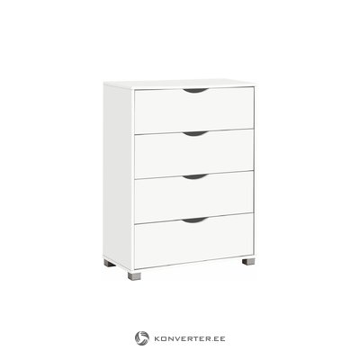 Nelson Chest 4DR - White