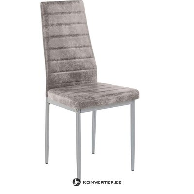 Light gray anthracite soft chair (cover) (hall sample)