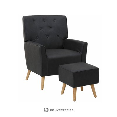 Mandy Recliner - PU Grey