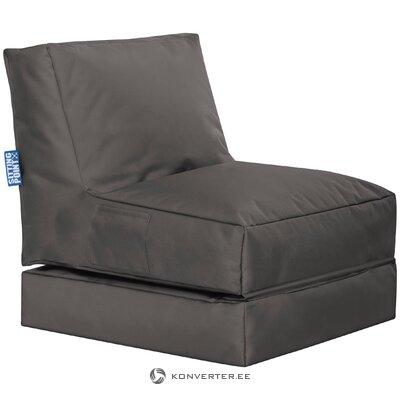 Dark gray garden chair pop up (magma)
