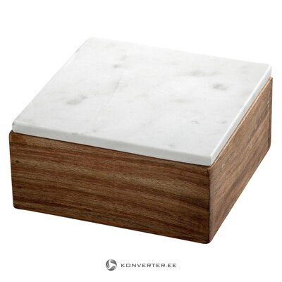 Storage box with marble lid (Nordstjerne)