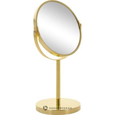 Golden table mirror classic (bloomingville)