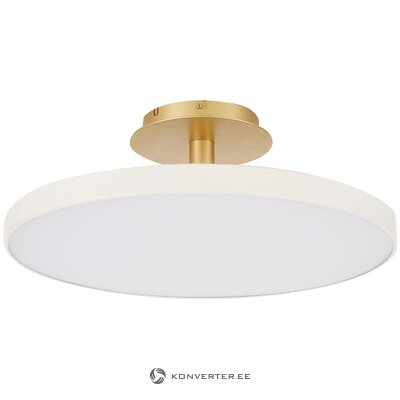 White-gold ceiling light (copenhagen) (whole, in box)