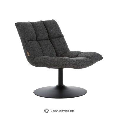 Harmaa kääntyvä nojatuoli (hollanti) (koko)